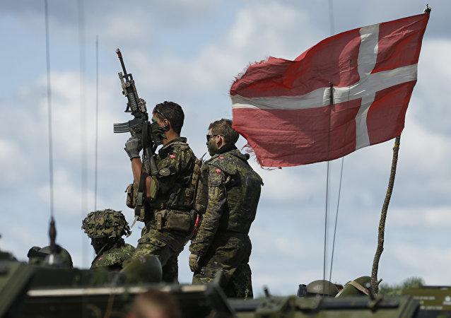 Δανοί στρατιώτες στο πλαίσιο στρατιωτικής άσκησης