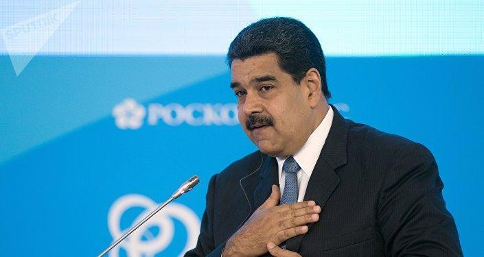 O πρόεδρος της Βενεζουέλας, Νικολάς Μαδούρο.