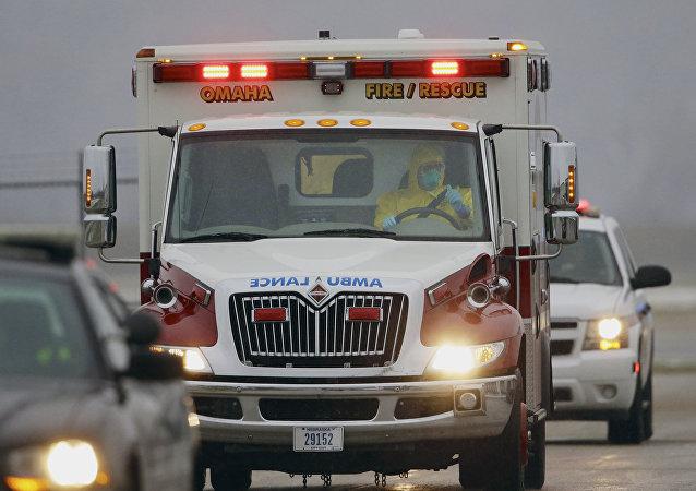 Ασθενοφόρο στις ΗΠΑ