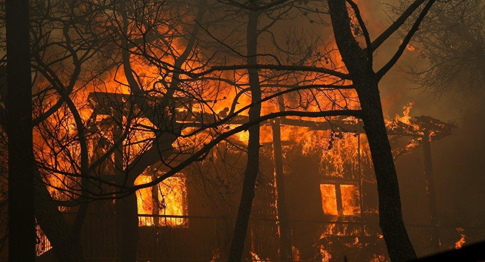 Πυρκαγιά στην Κινέτα
