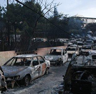 Η επόμενη ημέρα από τις φονικές πυρκαγιές στο Μάτι 24 Ιουλίου 2018