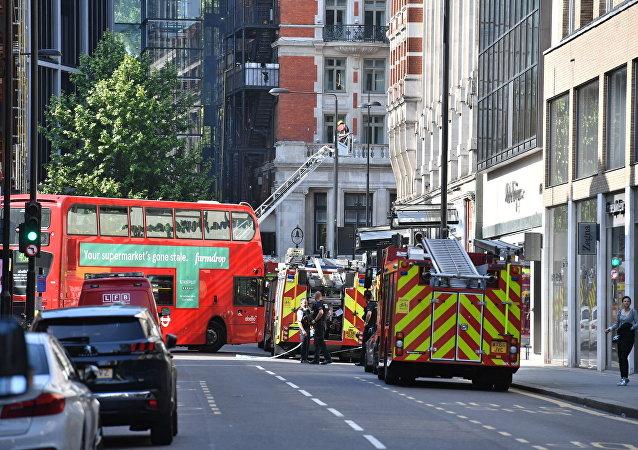 Πυροσβεστικά οχήματα στο Λονδίνο