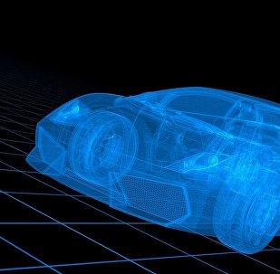 Ένα αυτοκίνητο από το μέλλον.
