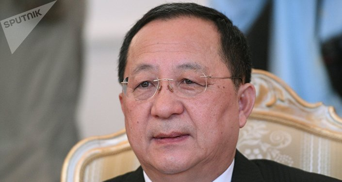 Ο ΥΠΕΞ της Βόρειας Κορέας, Ri Yong Ho.