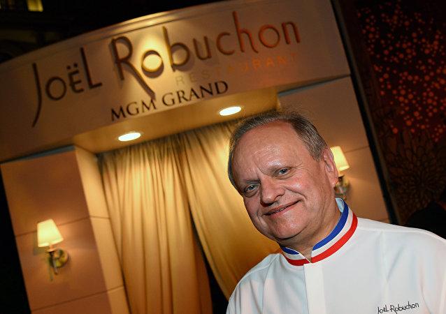 Ο Γάλλος σεφ Ζοέλ Ρομπισόν