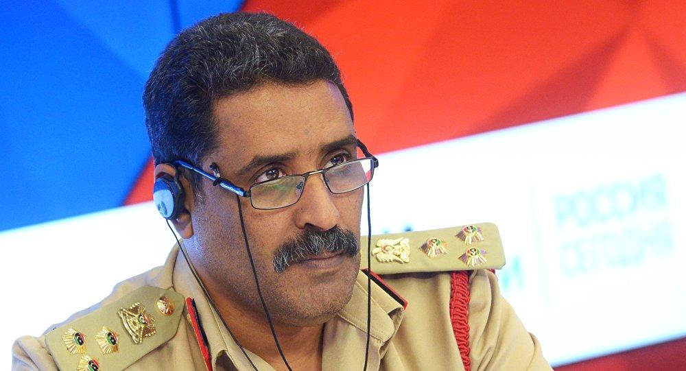 Ο εκπρόσωπος του λιβυκού στρατού Άχμεντ Μισμάρι