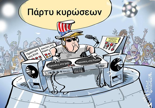 Οι ΗΠΑ ανακοινώνουν το στόχο των νέων κυρώσεων στη Ρωσία