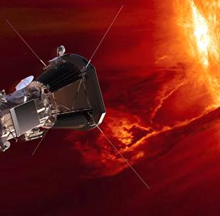 Καλλιτεχνική απεικόνιση του Park Solar Probe