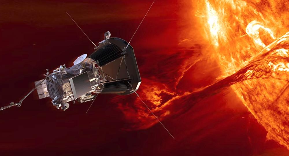Καλλιτεχνική απεικόνισι του Park Solar Probe