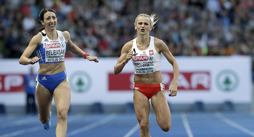 Η Μαρία Μπελιμπασάκη στον τελικό των 400 μέτρων στο Βερολίνο