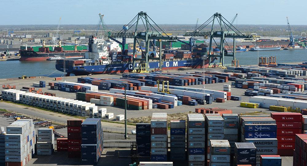 Το λιμάνι της Αμβέρσας (αρχείο)
