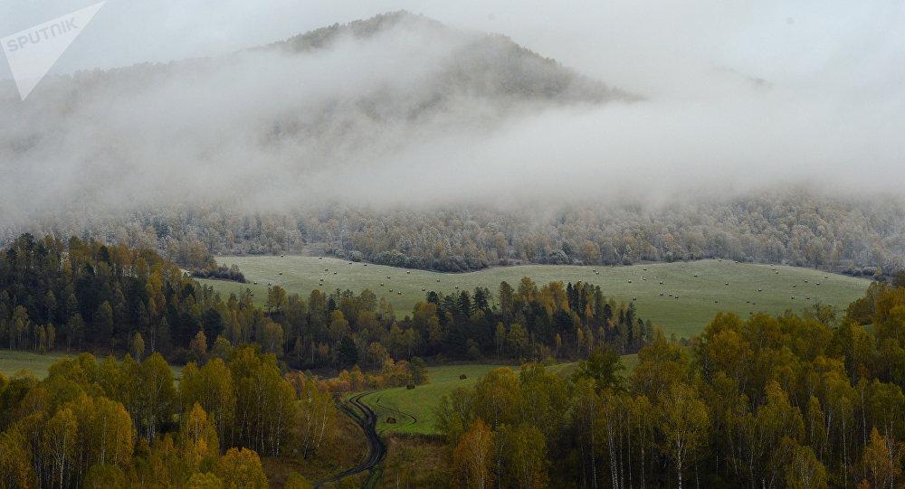 Βουνοκορφή στη Σιβηρία
