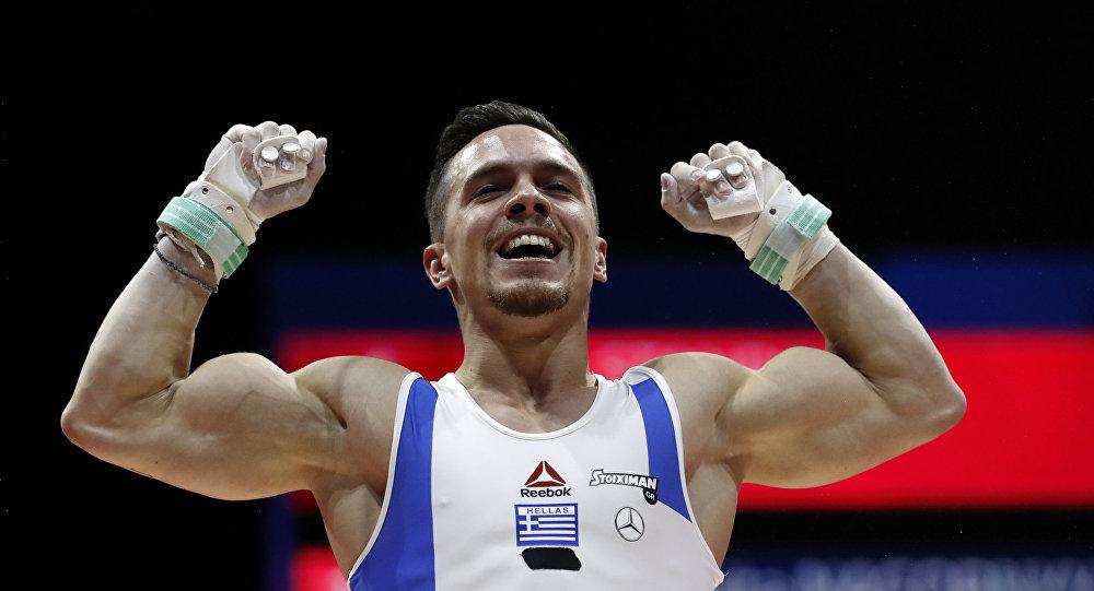 Ο Λευτέρης Πετρούνιας κερδίζει το χρυσό μετάλλιο στο ευρωπαϊκό πρωτάθλημα ενόργανης γυμναστικής στη Γλασκόβη