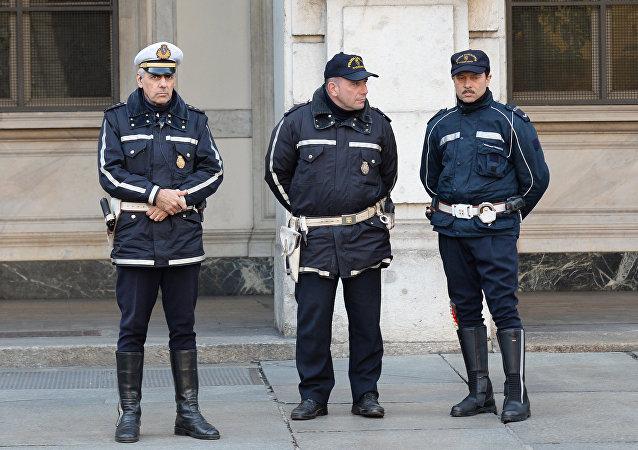 Ιταλοί αστυνομικοί