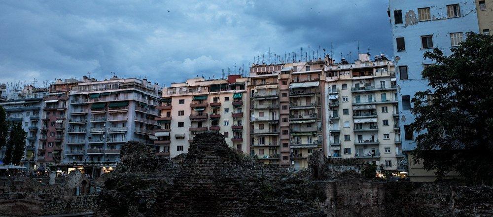 Πολυκατοικίες στην Θεσσαλονίκη
