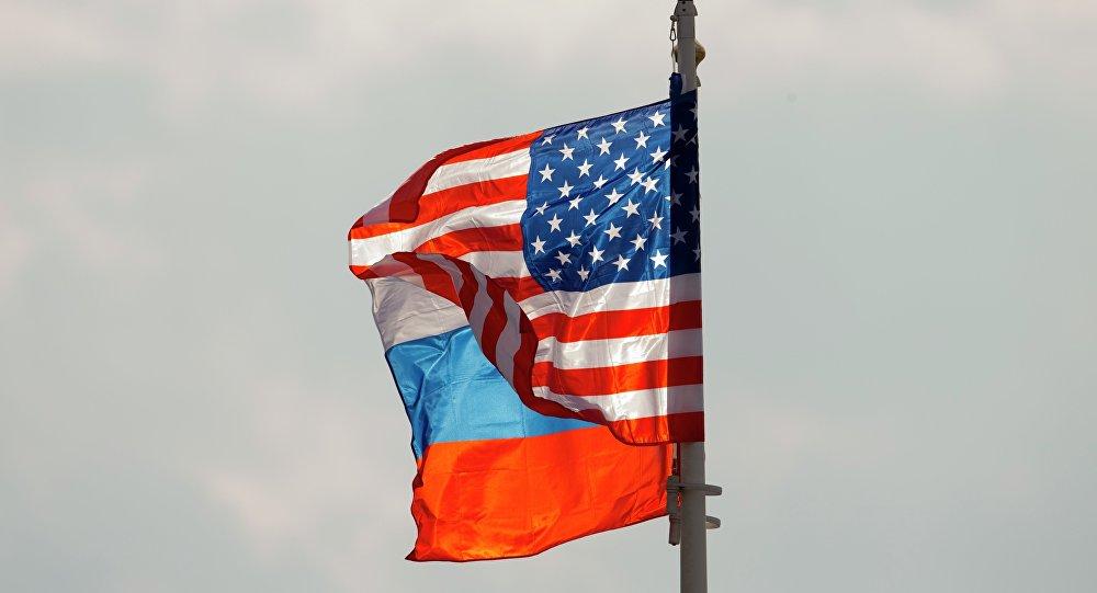 Οι σημαίες της Ρωσίας και των ΗΠΑ