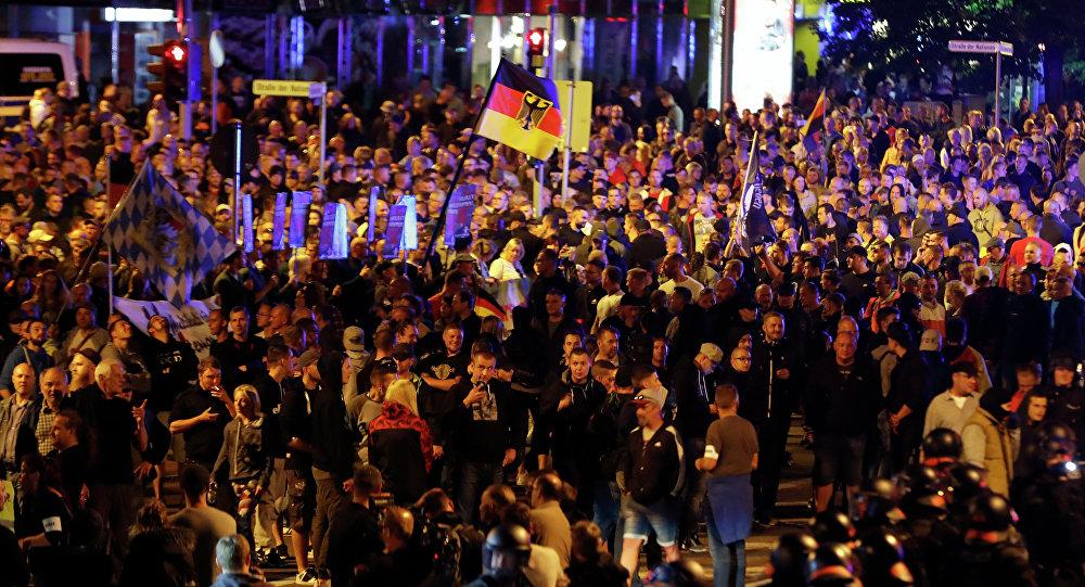 Διαδήλωση στη Γερμανία.