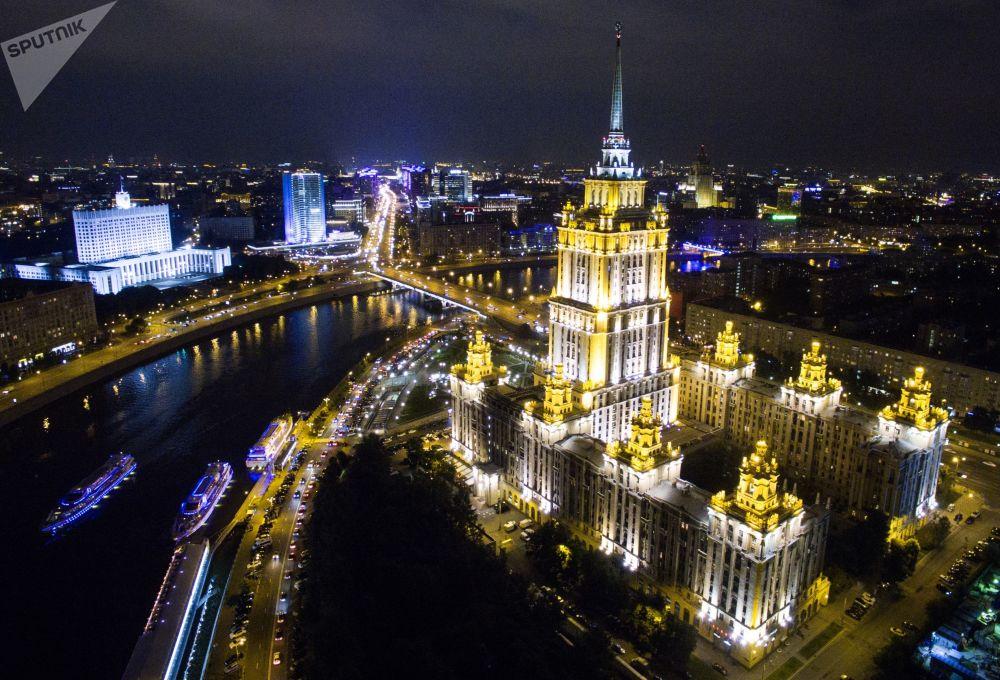 Το ξενοδοχείο Radisson Royal στη Μόσχα