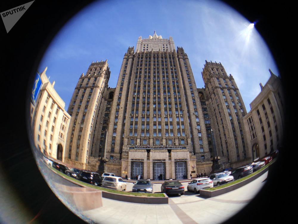 Το Υπουργείο Εξωτερικών στη Μόσχα στην πλατεία Σμολένσκαγια - Σενάγια