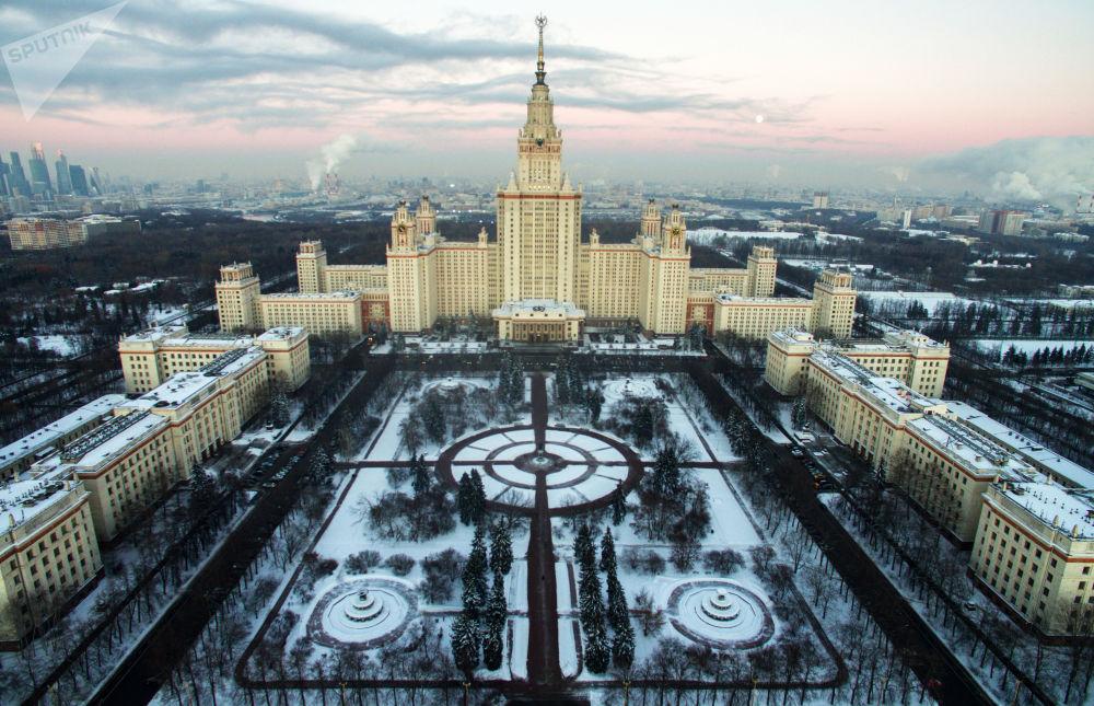 Το κεντρικό κτήριο του Πανεπιστημίου της Μόσχας