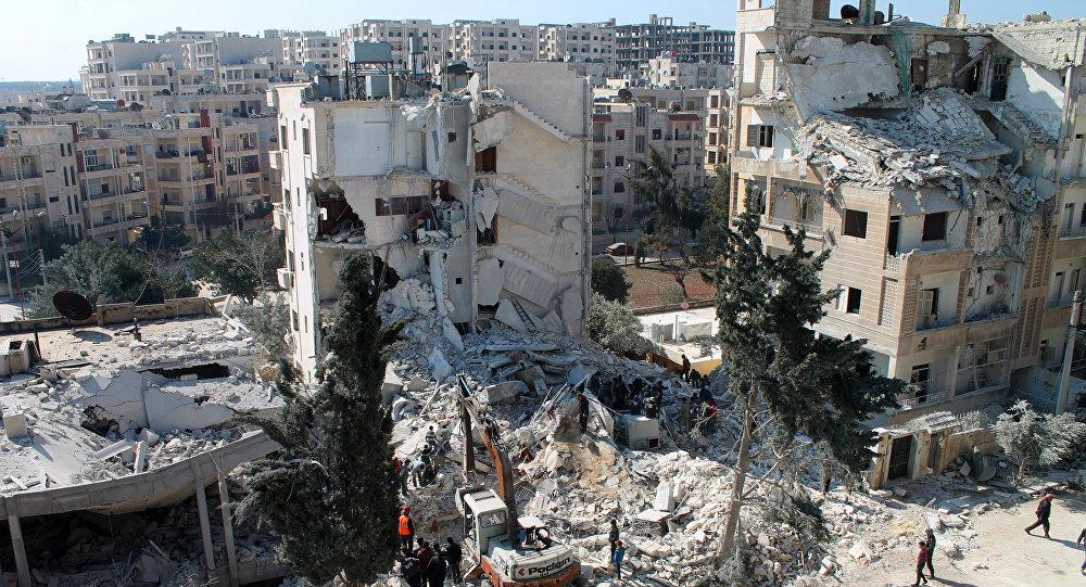H πόλη Ιντλίμπ της Συρίας