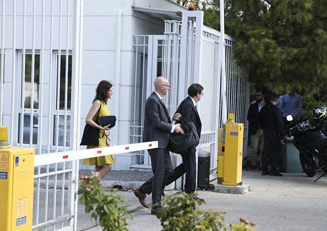 Το κλιμάκιο των δανειστών φτάνει για διαβουλεύσεις στο υπουργείο Δικαιοσύνης