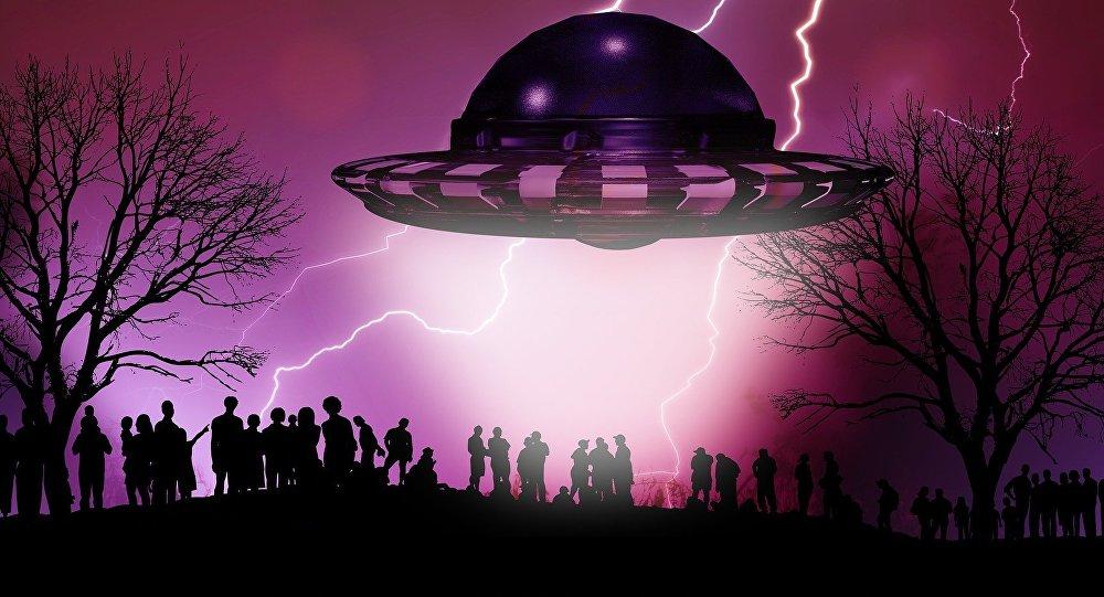 Καλλιτεχνική απεικόνιση UFO