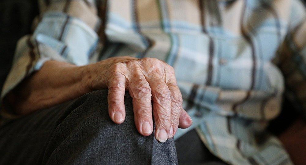 Ηλικιωμένος άντρας